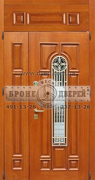 сколько стоит стальная дверь с фрамугой