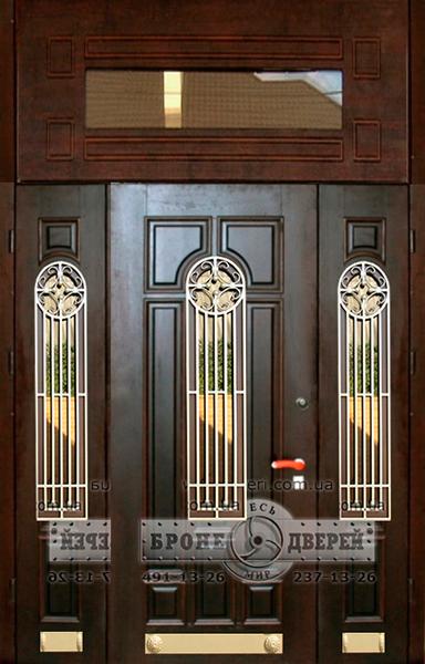 установка нестандартной входной двери в частном доме