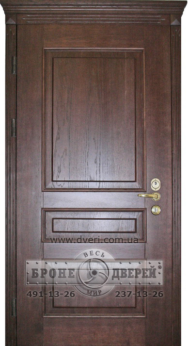 изготовить металлическую дверь с декоративной филенкой