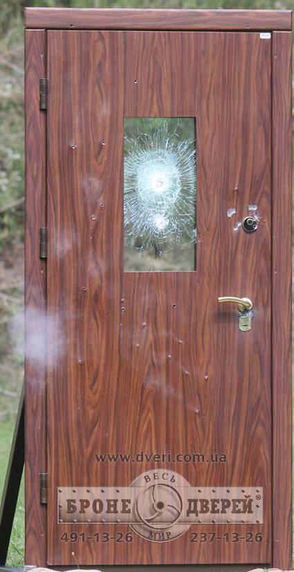 пулестойкость железной двери